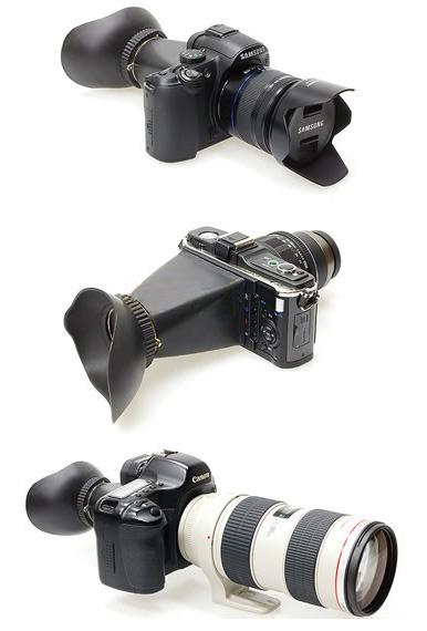 ROWA-JAPAN 2.8X LCD 液晶螢幕 觀景放大器 觀景器 取景器 for Canon 5DII 7D 500D 550D 600D 60D D90 / Sony NEX3 NEX5 / N 圖示介紹4