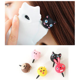 韓國大頭動物iPhone4S三星手機耳機孔防塵塞/耳機塞【HH婦幼館】
