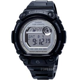 CASIO•BABY~G 〈BLX~103~1〉專屬女孩•G~LIDE閃耀感鏡面衝浪腕錶_