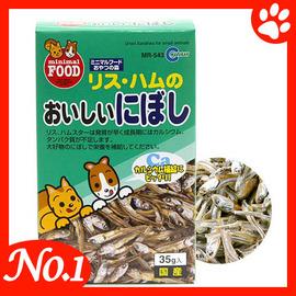 ~ MARUKAN~ MR~543 愛鼠美味小魚乾~35g ~愛鼠小點心^(五種口味^)