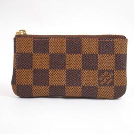 Louis Vuitton LV N62658 棋盤格紋小型方型鑰匙零錢包  價6 100