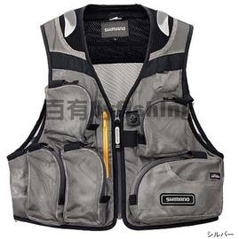◎百有釣具◎SHIMANO VE-002K 防蚊釣魚背心 規格L/LL~送釣魚帽