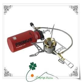 大林小草~瑞典 Primus 321985 Omni Ti™ 多燃料鈦合金遠征汽化爐 蜘蛛爐 飛碟爐 瓦斯、去漬油、煤油、柴油  送卡式轉接頭