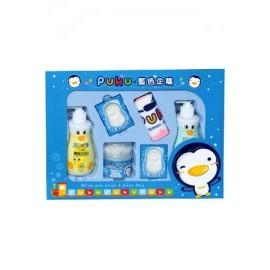 ^~^~小饅頭^~^~PUKU藍色企鵝 沐浴保養 組D^(P17917^)