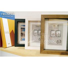 ~大樹小屋~~H0305028~瑞典TROMSO相框 風格主義~實木4x6立體單框 壁貼