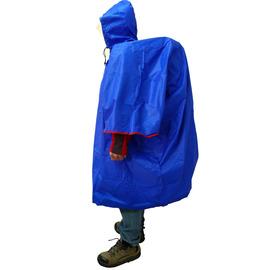 ADISI 連身套頭式雨衣  (小飛俠型)可兼作避難帳 背包套 簡易帳篷 露宿袋 睡袋套 地布等多功能用途 AS11098