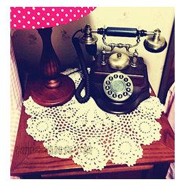 ^~微加幸福雜貨小築^~ 毛線 碗墊 盤墊 餐墊 手鉤 墊子 小蓋巾 拍攝道具 廚房餐桌用