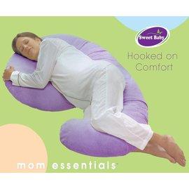 【預購7月初發貨】【紫貝殼】『OG14』mom essentials 孕婦托腹枕/產婦抱枕/哺乳枕/餵奶枕(超越snoogle、baby comfort)