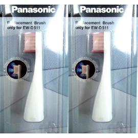 4隻【國際牌】《PANASONIC》台灣松下◆EW-DS11 電動牙刷◆專用刷頭