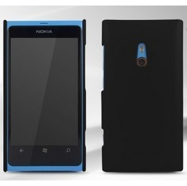 nokia lumia 800 手機殼/保護套/磨砂殼/外殼/護盾/保護殼 (黑)
