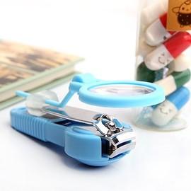 嬰兒-兒童專用 放大鏡防滑指甲剪/指甲刀/嬰兒剪