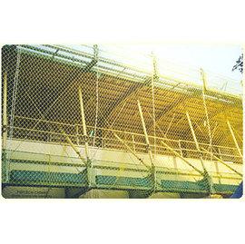 工地安全網.施工網 攔人網 安全網 工安網~塑膠,尼龍 2號網~~大鋅製網~