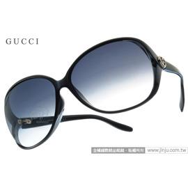 GUCCI太阳眼镜 GG3525KS D28JJ (黑) 亚洲版 经典LOGO款墨镜 # 金橘眼镜