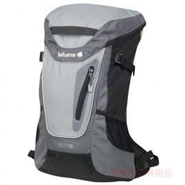 LFS3805-3083法國Lafuma輕便背包-灰配黑HIKO 15L(背有透氣網布)