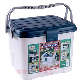 M-1966 CAPTAIN STAG 日本鹿牌月光寶盒(L號)耐重桶 多用途RV桶 水桶 水箱