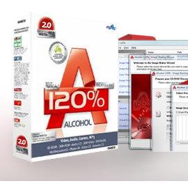Alcohol 120% 虛擬光碟工具  繁體中文  終身維護 下載版含 備份光碟