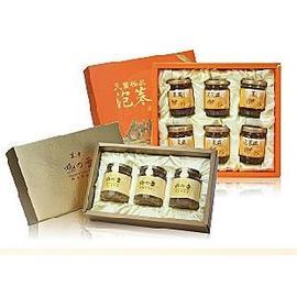 禮盒-天賞極品泡蔘燕窩6入*2盒+美人計紅棗雪蛤膏3入*2盒