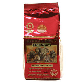~African Dawn~非洲晨曦 南非國寶茶 高濃度 40入 包 下殺^!第2件5折^