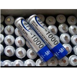 BTY 超強容量4號 鎳氫充電電池 1000mA (單顆)