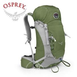 【美國 OSPREY】Kestrel 28L 小鷹級 輕量健行登山背包(3D立體網背/附背包套/緊急哨/登山杖扣)自助旅行.出國打工旅遊/針葉綠
