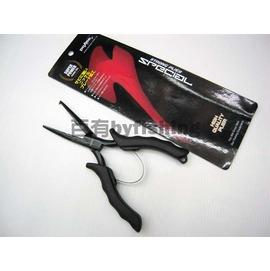 ◎百有釣具◎太平洋POKEE PK-989 鎢鋼片黑線鉗 6.5吋