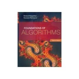 Foundations of Algorithms 4 e