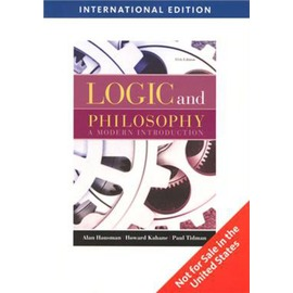 Logic and Philosophy: a modern introduction 1