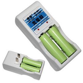[電池用](中國/德國/法國/韓國/印尼..等出國專用) 1.2V 3號電池 同時4節 充電電池充電器  ** 220V **