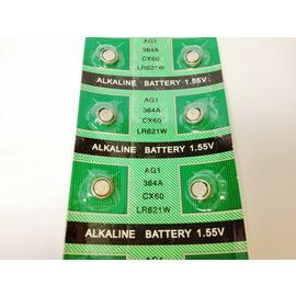 新竹市 AG1-LR621-364-SR621-164水銀電池/鋰電池/紐扣電池/水銀電池 (10入)