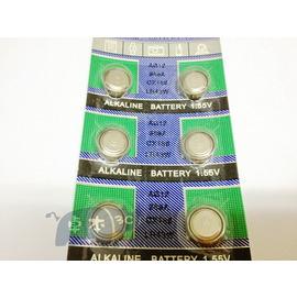 (天球牌) AG12 386A LR43 L1142 水銀電池/鋰電池/紐扣電池/水銀電池 (10入) [KBO-00037]