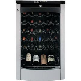 ★六期零利率★GE奇異 數位溫控/不鏽鋼門框設計之紅白酒櫃 PWR04FANBS