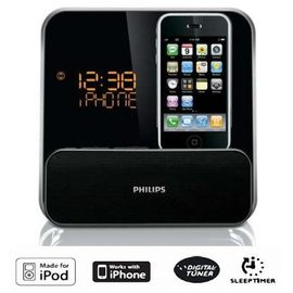 【飛利浦】《PHILIPS》iPod / iPhone Docking◆鬧鐘收音機《DC315 / DC-315》