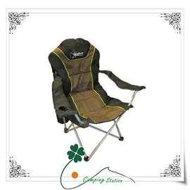 大林小草~【25001】OutdoorBase 太平洋高背可調椅(三段式)休閒椅.豪華型.太師椅.折合椅.露營椅