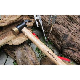 大林小草~【 25933】OutdoorBase 鍛造強化銅頭。營槌