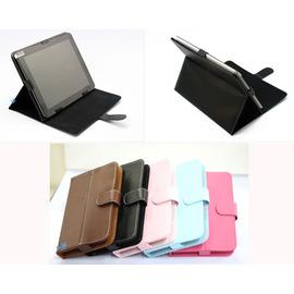 9.7吋平板電腦皮套 磁扣皮套9.7吋平板電腦三折皮套可站立+送電容觸控筆!! 專用皮套 折疊式支架皮套
