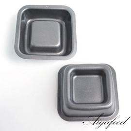 【艾佳】SN6614小蛋糕模(方型)(雙面矽利康)/個