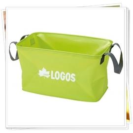 【日本 LOGOS】 水長流防水提袋 CI-50-輕量.折疊.不占空間/儲物袋/水桶/保冰袋/蓄水袋.可搭配行動冰箱.冰桶使用.適露營.野炊 88230140