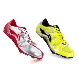 LI-NING 男女風雷專業短跑釘鞋(李寧運動 田徑 跑步 競賽 免運【02011861】≡排汗專家≡