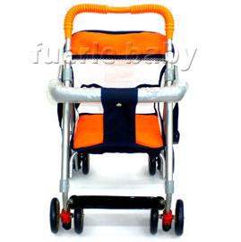透氣布可推式機車椅-320