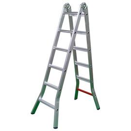 寬踏板折合鋁梯7尺★符合各縣市勞工單位安檢標準