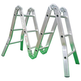 六關節多功能折合鋁梯/折梯10尺