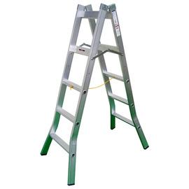 專利寬踏板鋁質活動梯/行走梯4尺