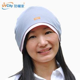 抗UV透氣機車潮帽 ~內斂灰 防曬帽 安全帽內襯 乾淨衛生 機能項 冰涼舒適 吸濕排汗 抗