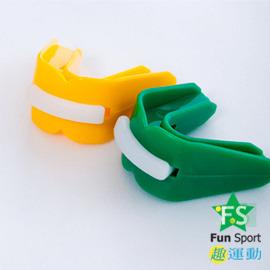 ~Fun Sport~武術跆拳~雙層護牙套1個 ^(附盒^)~ 製~~跆拳道 籃球 拳擊