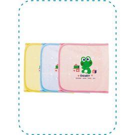 【紫貝殼】『PJ02』 Dooby 大眼蛙 印花肚圍春夏*大尺寸(藍)【店面經營/可預約看貨】