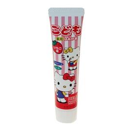 Kitty幼兒草莓牙膏