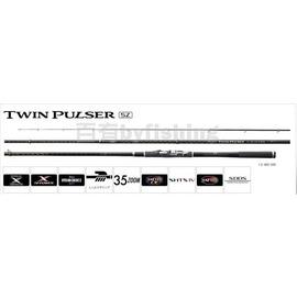 ◎百有釣具◎SHIMANO TWIN PULSER SZ 磯釣竿 1.2-485/520