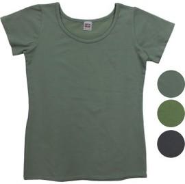 ^~920101a^~ ◆ 女裝 ^~彈性綿質 ~ U領T恤 ^(短袖^) ^~S^~LL
