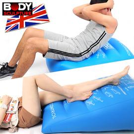 【BODY SCULPTURE】全能運動氣墊 C016-008A (懶骨頭抬腿枕.充氣美腿枕.伏地挺身器.仰臥起坐健身器材.推薦)