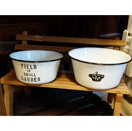 ^~微加幸福雜貨小築^~日式zakka復古 懷舊 泡麵碗 沙拉碗 輕琺瑯 點心碗  花器